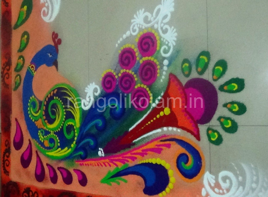 Rangoli Art Rangolikolam In